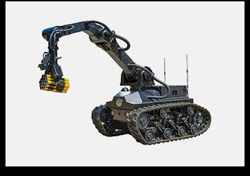 中型排爆机器人