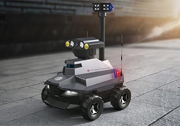 智能安防巡逻机器人